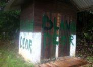 Incendie criminel et raciste en Guyane