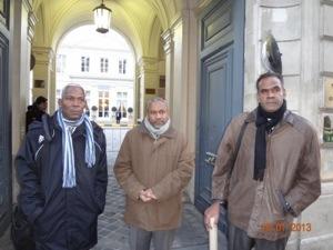 Serge Letchimy va t-il pouvoir convaincre Victorin Lurel d'interdire à Bertrand Cambusy et à Georges-Emmanuel Germany de participer à la réunion au ministère ?