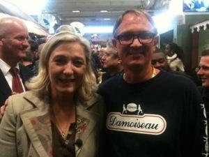 Damoiseau/Marine le Pen  la nouvelle route du rhum ?