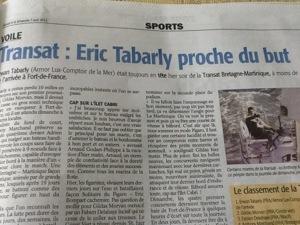 Dieu soit loué...#Rudy ressuscite Éric #Tabarly