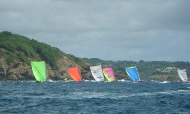 Yole-Ronde : Tour de #Martinique #2013