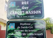 Rue Guy Cabort-Masson ou un hommage entache d'ambiguïté