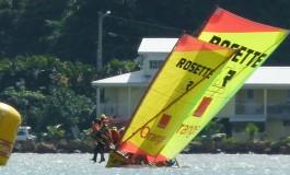 Tour de la #Martinique des yoles 2013 : Aujourd'hui Ets Rosette/Orange