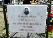Ecrit pour honorer la mort d'un rebelle : Pierre Just Marny