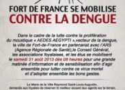 Fort-de-France se mobilise contre la #dengue