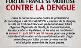Fort-de-France se mobilise contre la #dengue