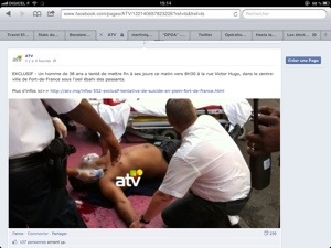 La GUERRE (à la con) de l'info est déclarée en #Martinique