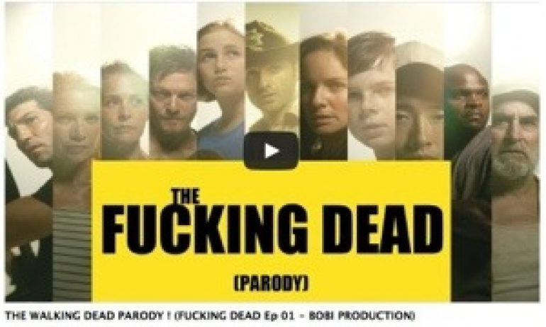 THE WALKING DEAD PARODY ! (FUCKING DEAD Ep 01 - #BOBI PRODUCTION)