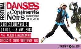 """Festival """"Danses et Continents Noirs"""""""