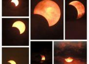 Les plus belles photos de l'éclipse