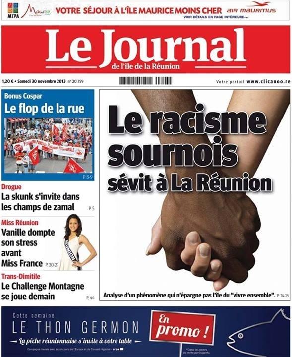 Le journal de l 39 le de la r union jir torpille le mythe for Le journal de la