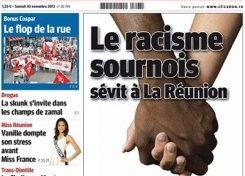 Le Journal de l'Île de la #Réunion (JIR) torpille le mythe du paradis métis.