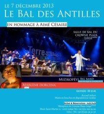 Le  Bal des Antilles en Hommage à Aimé #Césaire