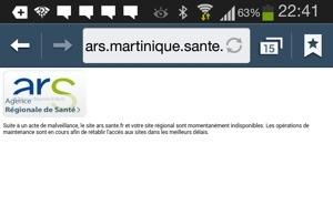 #Martinique : L'#ARS attaquée par un cyber #chikungunya ?