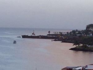 La #Martinique avance...les barges aussi