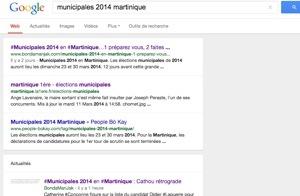 #Municipales 2014 en #Martinique : Martinique Première...deuxième juste après...#Bondamanjak