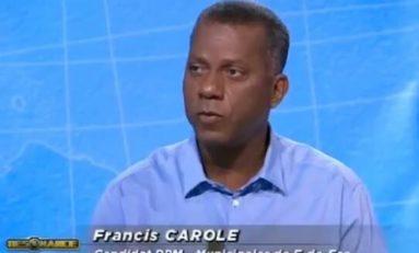 #Municipales 2014 en #Martinique : Selon Télé Martinique Première...Francis #Carole serait du #PPM
