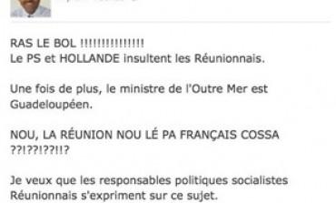 """Thierry #Robert : """"NOU, LA RÉUNION NOU LÉ PA FRANÇAIS COSSA ??!??!??!!?"""""""