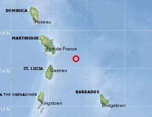 La terre a tremblé en #Martinique (mercredi 9 avril 2014)