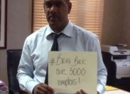 #bring back our 5000 emplois