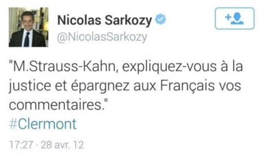 Le tweet d'un jour... #Sarkozy
