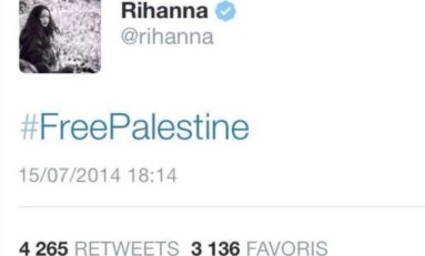 #freepalestine by #rihanna