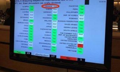 DEMANDE D'OUVERTURE D'UNE ENQUÊTE INTERNATIONALE SUR LES CRIMES DE GUERRE COMMIS À #GAZA : LA #FRANCE...S'ABSTIENT.