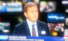 """Patrick #Karam """"apolitique"""" à géographie variable"""
