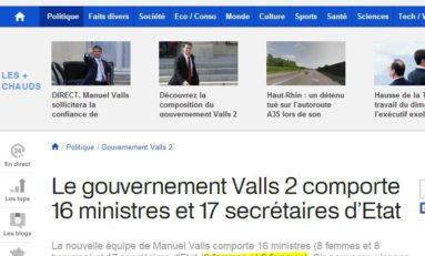Le gouvernement #Valls 2 n'a pas de couilles