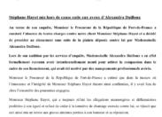 Stéphane #Hayot/Alexandra #Dailloux : l'assistance de direction aurait menti