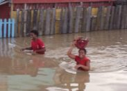 Malgré le désastre ...ils gardent le sourire