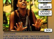 Joue et tente de gagner ta place pour le concert de Betty #Marolany en #Martinique