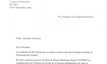 Letchimy interpellé par le pôle Martinique de l'UA