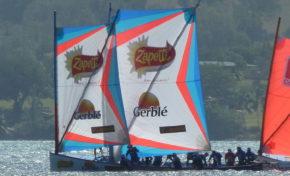Yole ronde de Martinique : Zapetti Gerblé Appaloosa gagne la 6ème journée du Championnat au Marin