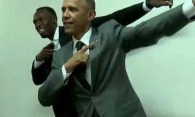 L'image du jour (11/04/15) #obama #bolt #jamaica #usainbolt