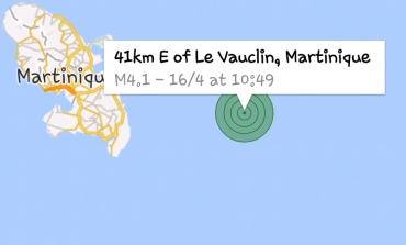 La terre a tremblé en #Martinique #tremblementdeterre #seisme