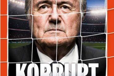 Sepp Blatter démissionne.