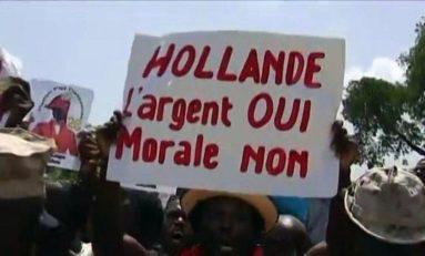 L'image du jour (12 mai 2015) #haiti #hollande #morale #dette