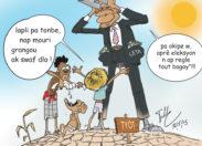 La caricature du jour à Haïti