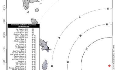 Communiqué sur le séisme ressenti du 16 Juillet 2015 en Martinique