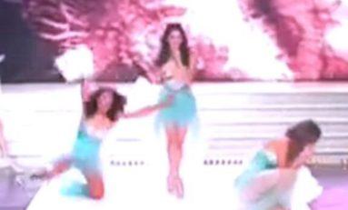 Miss Réunion 2015 ...Alice ...ça glisse