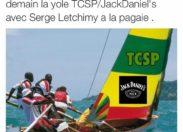 Tour des yoles rondes de la Martinique 2015 : on a retrouvé Camille Alexandre