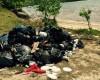 Sur le Tour de la Martinique des yoles rondes…les pollueurs ne sont pas des ordures