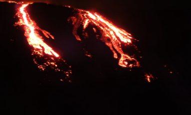 Le piton de la Fournaise...les coulées de lave du 31 juillet 2015 [Vidéo ]