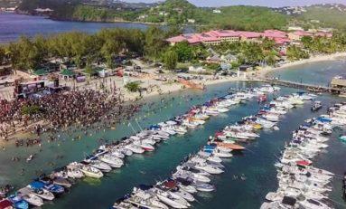 La Martinique avance...tellement vite qu'elle est déjà à Sainte-Lucie