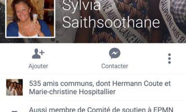 Sylvia Saithsoothane est-elle membre du groupe de soutien à Ensemble Pour une Martinique Nouvelle (EPMN) à l'insu de son plein gré