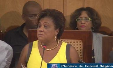 22 septembre 2015 malgré sa démission Catherine Conconne est encore 1ère vice-présidente du Conseil Régional de la Martinique