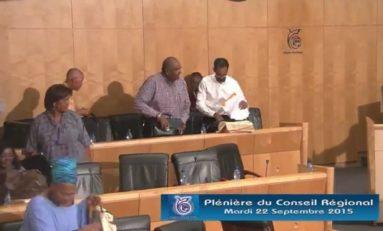 """Le Groupe des élus """"Patriotes Martiniquais et Sympathisants"""" se retire de la séance plénière régionale du 22 septembre 2015"""