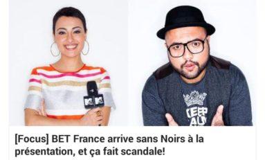 BET France...arrêtez de faire chier bande de nègres...le chapeau de l'animateur est noir