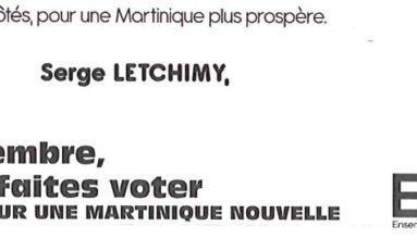 Jeff Lafontaine doit-il présenter sa démission à Serge Letchimy ...le président de la Région Martinique doit-il la refuser ?
